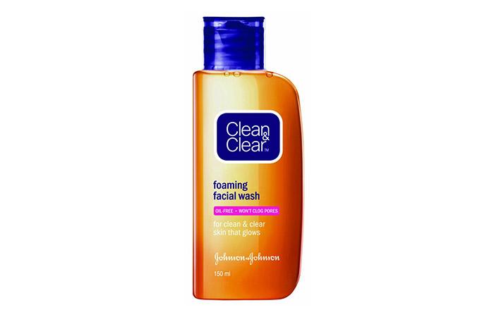 Clean & Clear Foaming Facial Face Wash