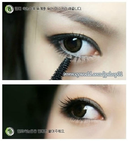 asian women eye make up tips
