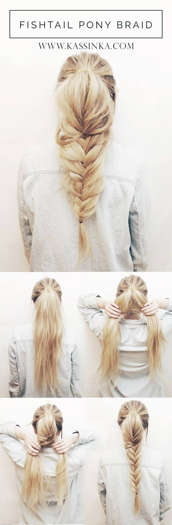 Fishtail-Pony-Braid