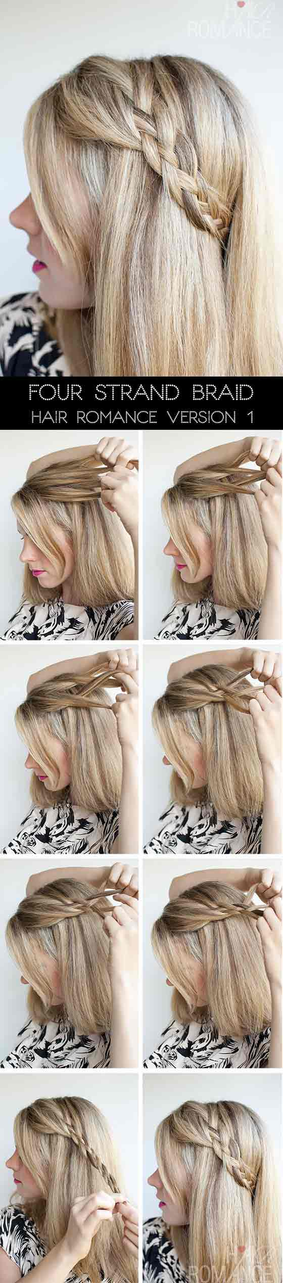 5. Four Strand Accent Braid