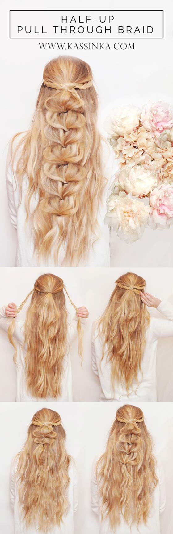 Half-Up-Pull-Through-Braid