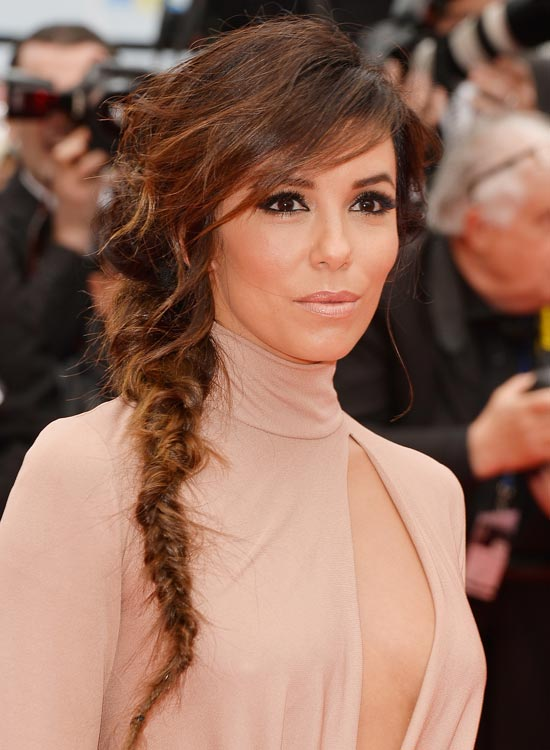 Messy-Wispy-Side-Fishtail-Braid-with-Layered-Side-Bang