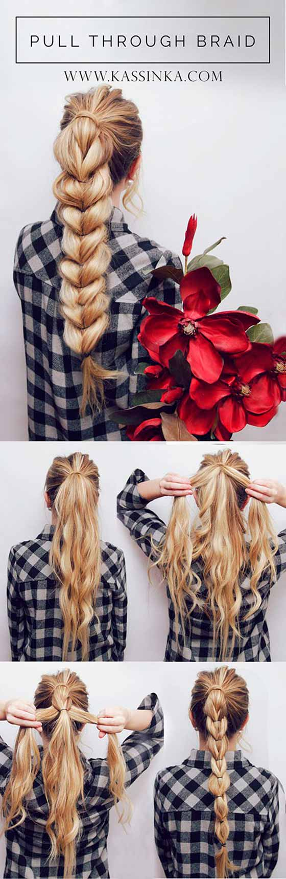 Pull-Through-Braid