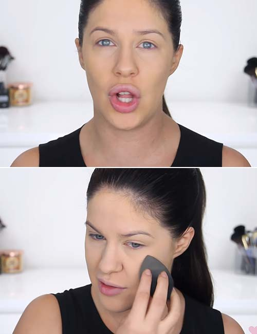 Makeup For Oily Skin - Set With A Powder