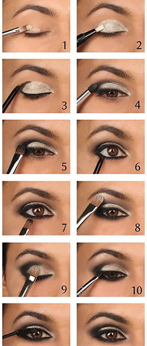 Day smokey eye | 5 steps | makeup tutorial youtube.