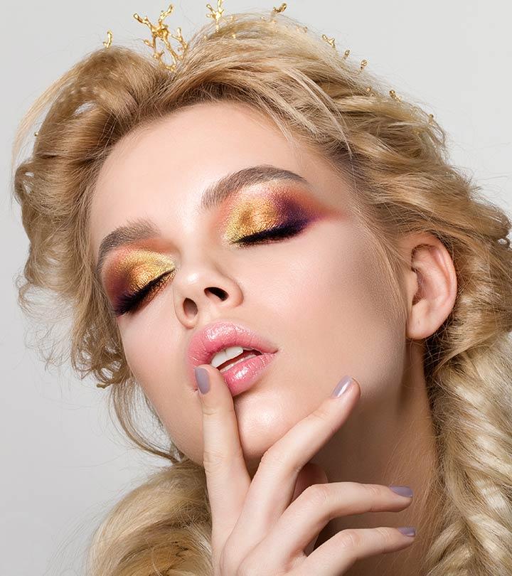 Simple-Gold-Eye-Makeup-Tutorial