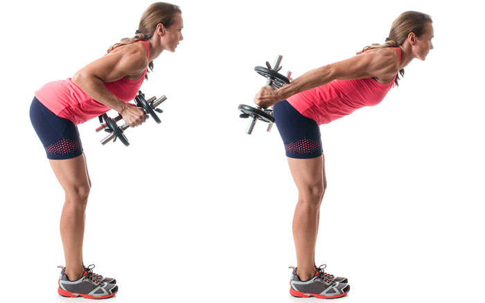 How To Get Rid Of Flabby Arms - Tricep Kickbacks