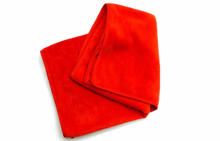 Curly Hair Tips - Use a microfiber towel