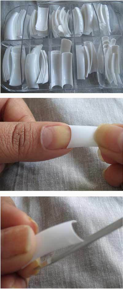How to apply nail extensions perfectly with steps and pictures nail design pinit solutioingenieria Gallery