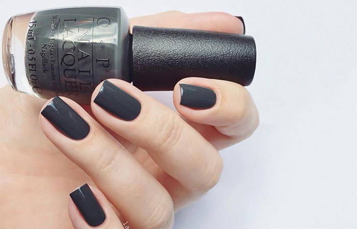 """""""Liv"""" In The Gray Nail Polish Swatch"""