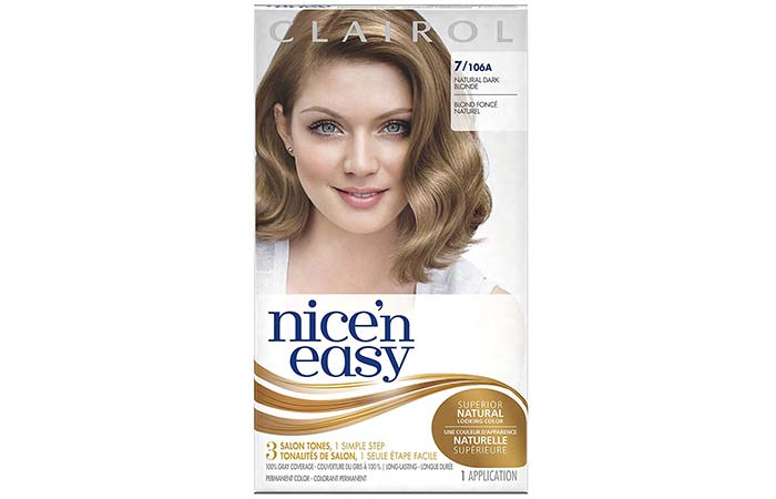 15 best hair color shades to cover your gray hair in 2018 1 clairol nice n easy natural dark blonde solutioingenieria Image collections
