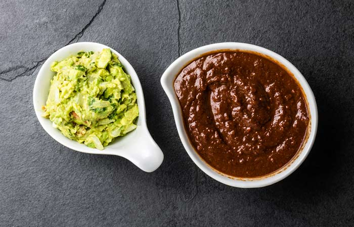 13. Chocolate Avocado Face Mask For Wrinkles
