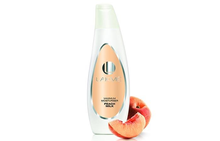 Moisturizers For Oily Skin - Lakme Maximum Moisturiser Peach Milk