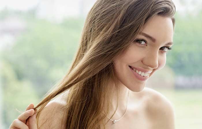 Benefits Of Green Tea - Stimulates Hair Growth