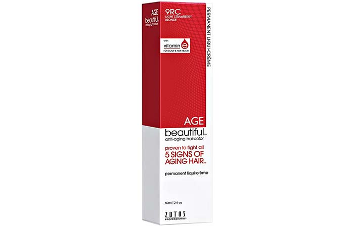 5. Zotos AGEbeautiful Permanent Liqui-Creme – Strawberry Blonde