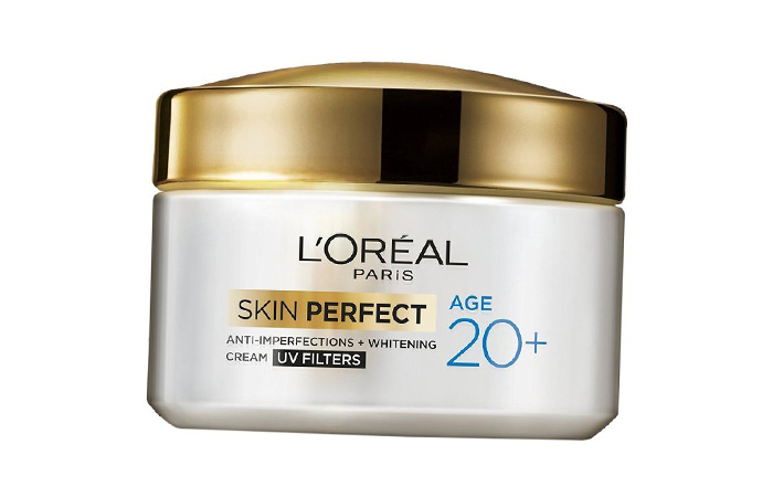 Moisturizers For Oily Skin - L'Oreal Paris 20+ Anti-Imperfections Whitening Cream