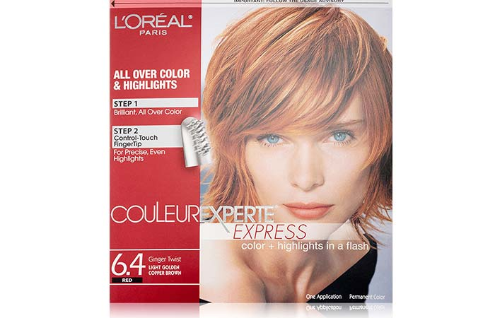 7. Lu0027Oreal Paris Couleur Experte Express Color + Highlights U2013 Ginger Twist
