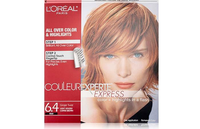 7.L'Oreal Paris Couleur Experte Express Color + Highlights – Ginger Twist