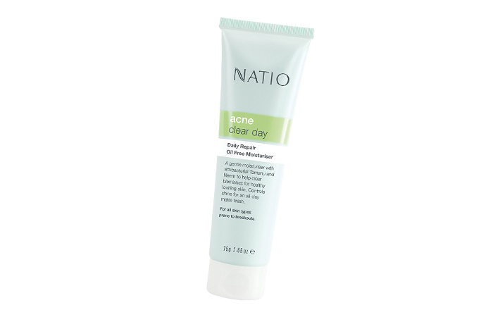Moisturizers For Oily Skin - Natio Daily Repair Oil Free Moisturizer