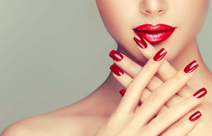 9. Never Scrape Off Your Nail Polish