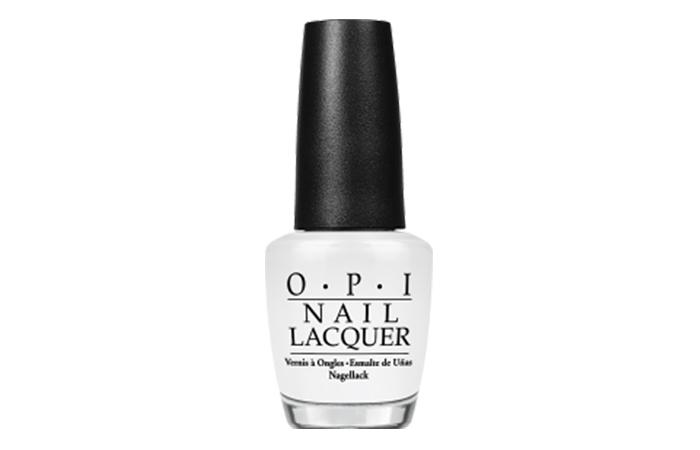 Best OPI Nail Polish - Alpine Snow Shade