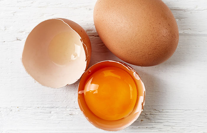 Egg-Pack Anti-Aging Effects