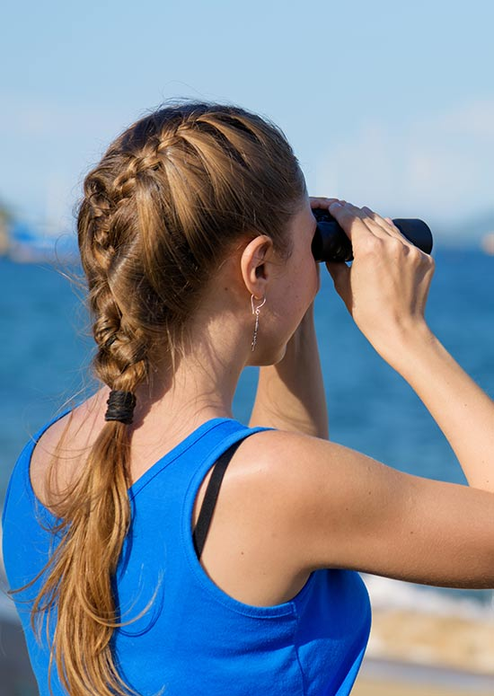 Latest Hairstyles For Long Hair - French Braid