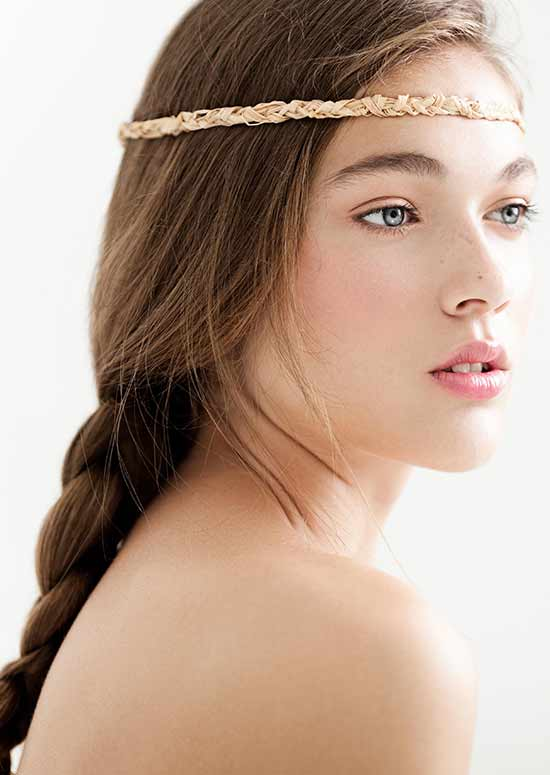 Latest Hairstyles For Long Hair - Headband With Braids hairstyle