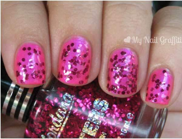 jordana glitter nail polish