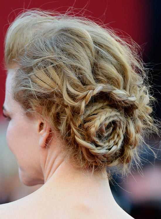 Messy-Braided-Flower-Updo