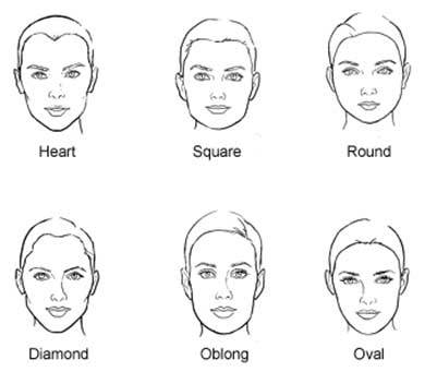 short hairstyles for different face shapes