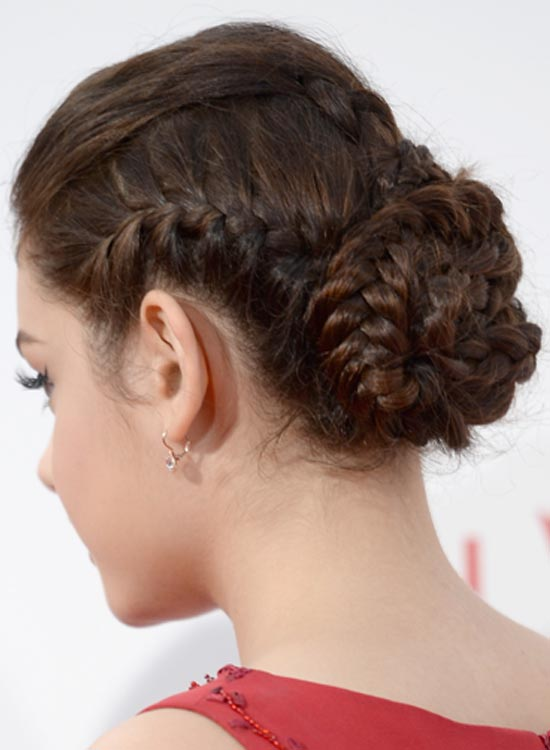 Simple-Triple-Braided-Bun