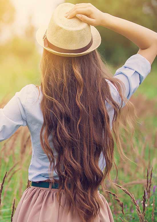 Latest Hairstyles For Long Hair - Sleek Cinderella Hair