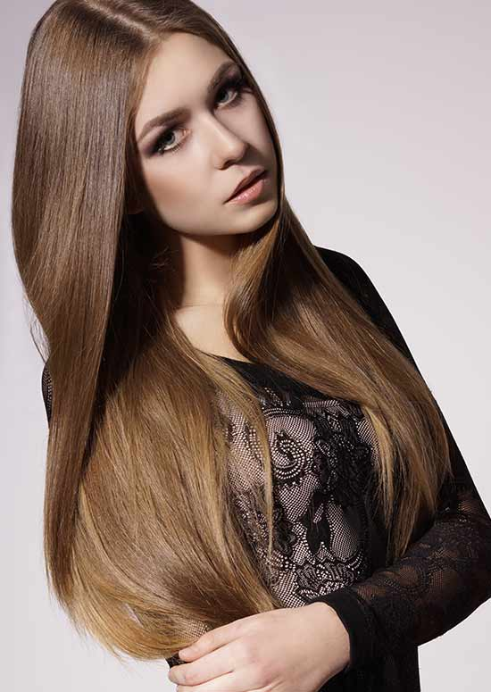 Latest Hairstyles For Long Hair   Sleek And Shiny Pinit