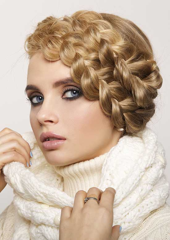 Latest Hairstyles For Long Hair - The-Braided-Headband-Or-Milkmaid-Braid hairstyle