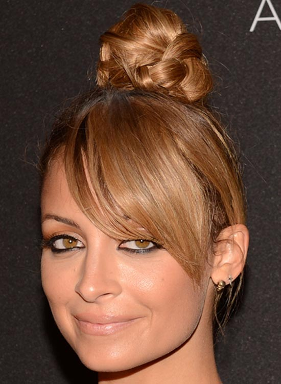 Topknot-with-Side-Bangs