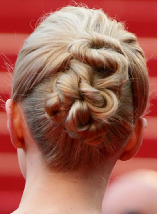 Twisted-Updo-with-Puffy-Crown