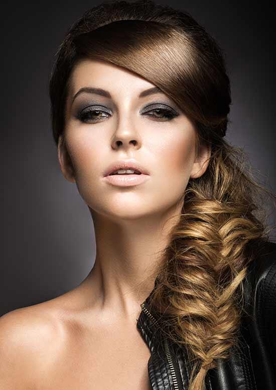 Latest Hairstyles For Long Hair - Fishtail Braid