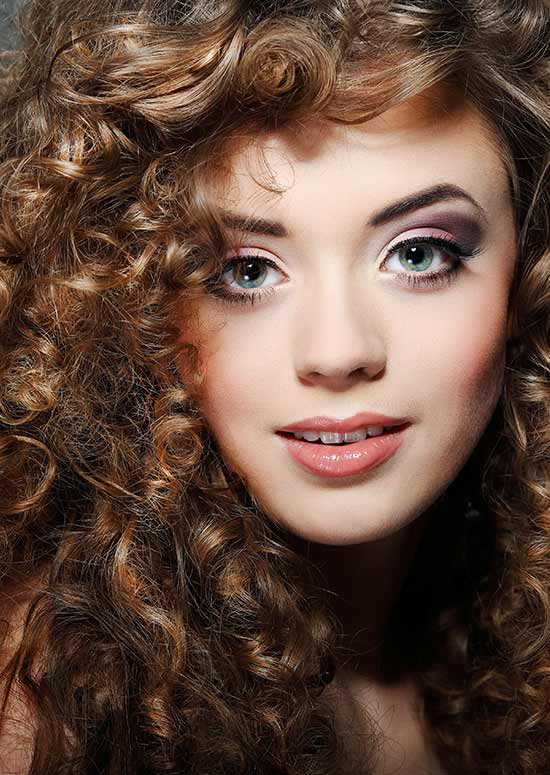 Latest Hairstyles For Long Hair - Tight Curls