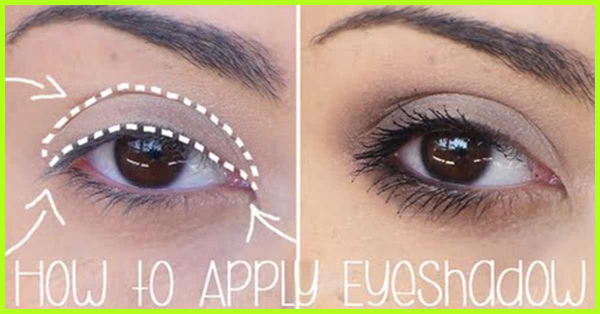 Applying eye makeup diagram of eyeshadow application auto wiring how to apply eyeshadows for beginners step by step tutorial rh stylecraze com eye shadow diagram ccuart Images