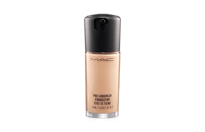 Best Face Makeup Products - 1. M.A.C Pro Long Wear Foundation
