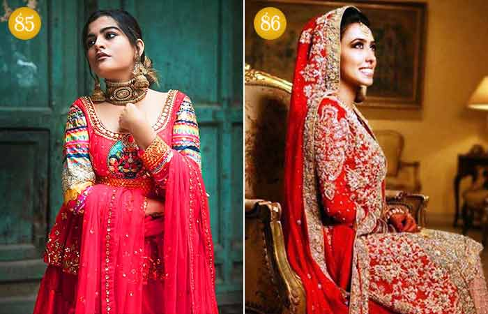 Traditional And Trending Bridal Look