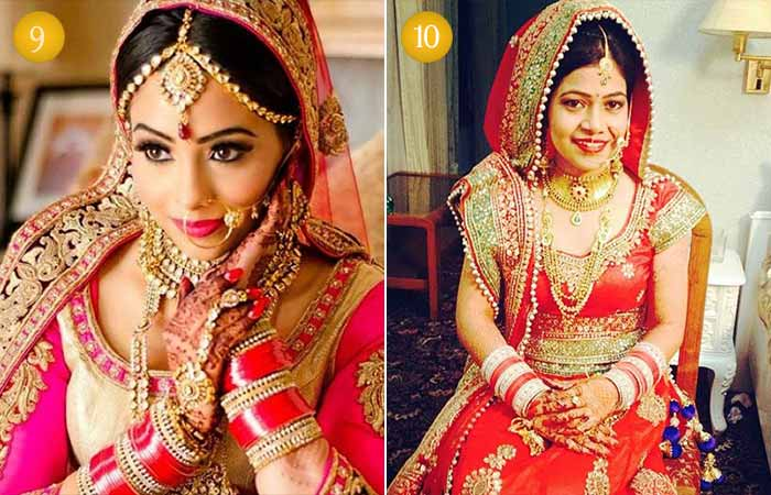 Beautiful Indian Bridal Makeup Looks - Traditional Punjabi Bridal Looks