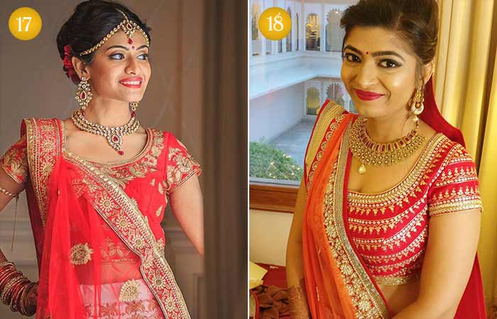 Beautiful Indian Bridal Makeup Looks - Gujarati Bridal Looks 5 & 6
