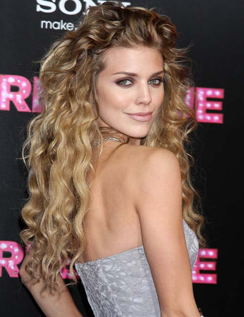 12. Long Sweeping Layers On Loose Curls