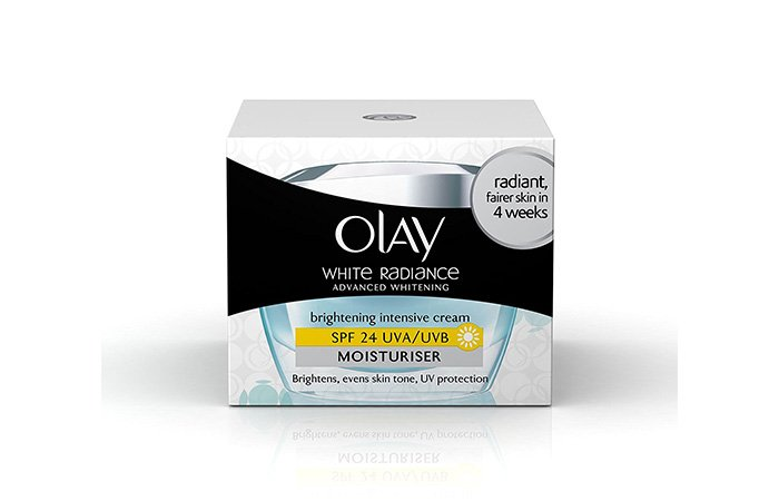 17. Olay White Radiance Advanced Fairness Protective Skin Cream Moisturizer