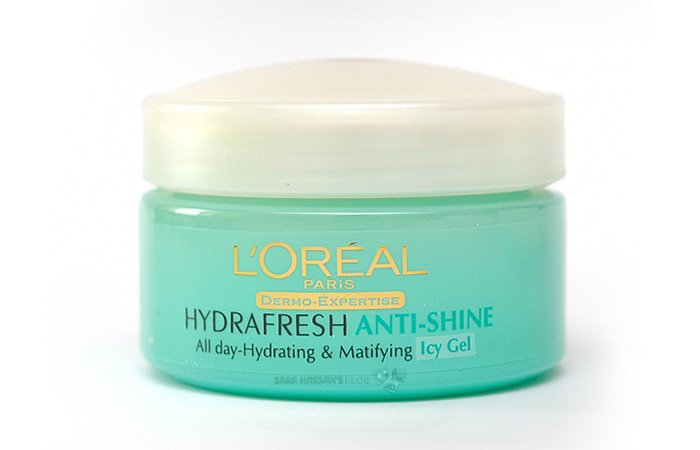4. L'Oreal Paris Hydrafresh Anti-Shine Icy Gel