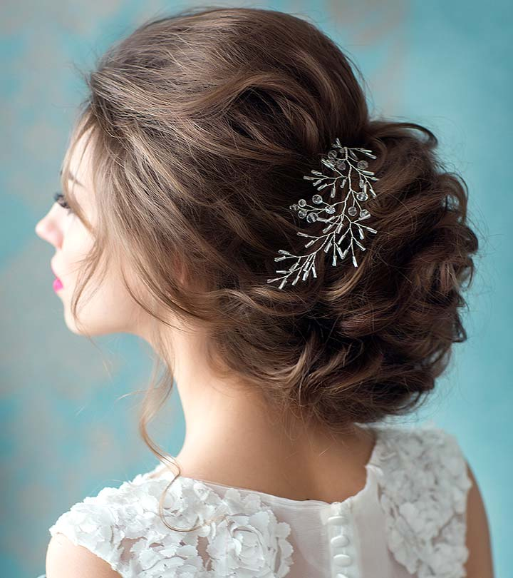 50 fabulous bridal hairstyles for short hair junglespirit Choice Image
