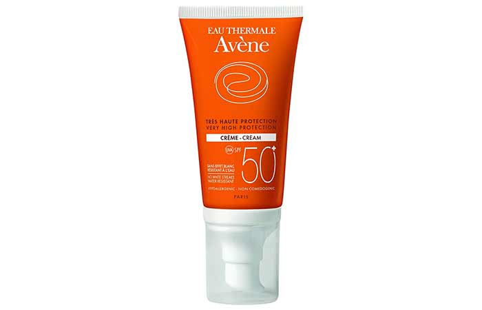 Best Sunscreens In India - Avene Very High Protection Cream SPF 50