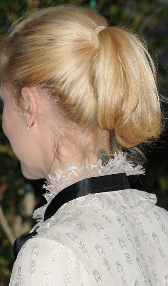 Blonde Short Ponytail